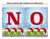 Éduca-thème-Noël-heureux ou grincheux