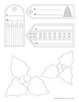 Étiquettes-Bricos cadeaux-Noël