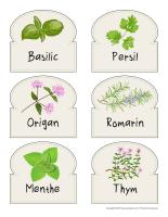 Étiquettes autocollants-Les semences-1