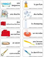 Étiquettes-mots - Les microbes