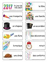 Etiquettes-mots-Bonne annee 2017