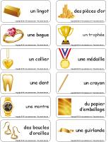 Étiquettes-mots-Décembre en or