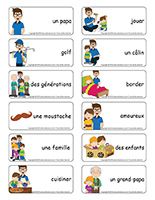 Étiquettes-mots-Fête des Pères 2018
