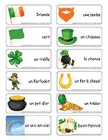 Étiquettes-mots-La Saint-Patrick