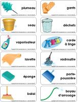 Étiquettes-mots-Le ménage du printemps-2
