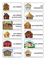 Étiquettes-mots-Les cabanes