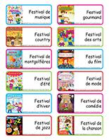 Étiquettes-mots-Les festivals