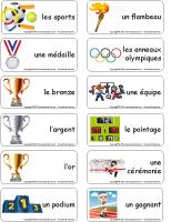 Étiquettes-mots-Les olympiades d'été