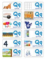 Étiquettes-mots-Lettre Q