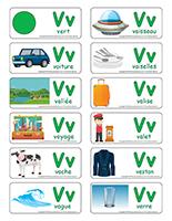 Étiquettes-mots-Lettre V