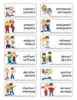 Étiquettes-mots-Métiers-1