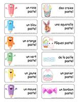 Étiquettes-mots-Paques-pastel