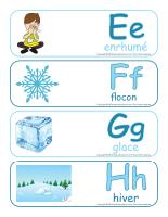Étiquettes-mots géant-Abécédaire-hiver-2