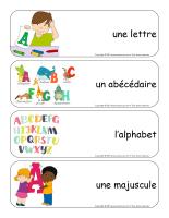 Étiquettes-mots géants-Alphabet-1