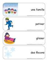 Étiquettes-mots géants-Carnaval d'hiver-2