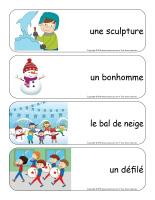 Étiquettes-mots géants-Carnaval d'hiver-3