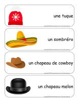 Étiquettes-mots géants-Chapeaux-1