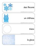 Étiquettes-mots géants-Châteaux de neige-2