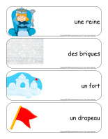 Étiquettes-mots géants-Châteaux de neige-3