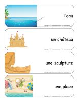 Étiquettes-mots géants-Châteaux de sable-2