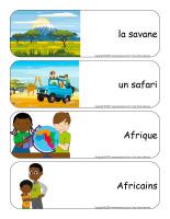 Étiquettes-mots géants-Découvrons l'Afrique-1