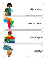 Étiquettes-mots géants-Découvrons l'Afrique-2