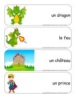 Étiquettes-mots géants-Dragons-1