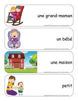 Étiquettes-mots géants-Famille-2