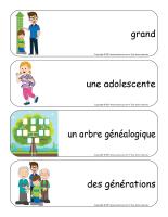 Étiquettes-mots géants-Famille-3