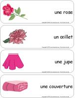 Étiquettes-mots-géants-Février en rose
