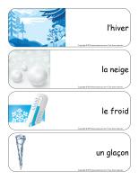 Étiquettes-mots géants-Flocons de neige-1