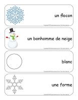 Étiquettes-mots géants-Flocons de neige-2