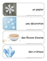 Étiquettes-mots géants-Flocons de neige-3