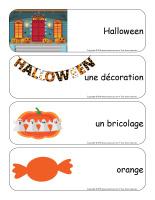 Étiquettes-mots géants-Halloween-Les décorations-1
