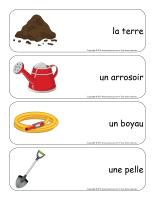 Étiquettes-mots géants-Jardiniers-Jardinières-1