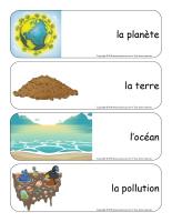Étiquettes-mots géants-Jour de la Terre-1