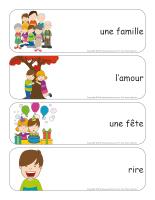 Étiquettes-mots géants-Journée de l'enfant-2