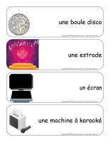 Étiquettes-mots géants-Karaoké-3