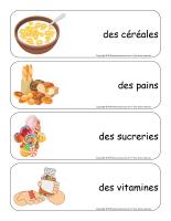 Étiquettes-mots géants-L'alimentation-2