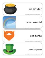 Étiquettes-mots géants-La Saint-Patrick-2