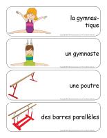 Étiquettes-mots géants-La gymnastique-2