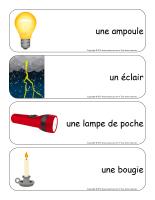 Étiquettes-mots géants-La lumière-1