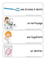 Étiquettes-mots géants-La santé dentaire-3