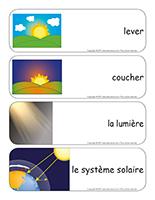 Étiquettes-mots géants-Le soleil-3
