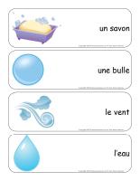 Étiquettes-mots géants-Les bulles