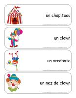 Étiquettes-mots-géants-Les clowns-1