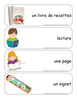 Étiquettes-mots géants-Les livres-2