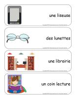 Étiquettes-mots géants-Les livres-3