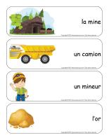 Étiquettes-mots géants-Les mines-1