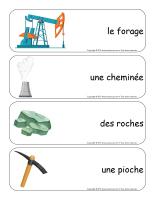 Étiquettes-mots géants-Les mines-2